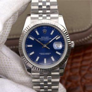 【劳力士116334蓝盘】一比一高仿Rolex 劳力士 Datejust 日志型系列116334蓝盘价格_多少钱_报价-实名表业高仿手表商城