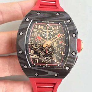 理查德米勒仿表 高仿复刻理查德米勒RM011款 红色 男士机械表价格_多少钱_报价-实名表业高仿手表商城