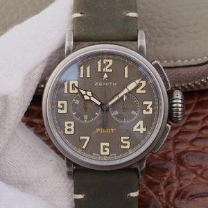 XF厂真力时11.2430.4069/21.C773,高仿复刻真力时(Zenith)飞行员系列TON-UP系列 11.2430.4069/21.C773,男士自动机械腕表关于手表价格_多少钱_报价-实名表业高仿手表商城