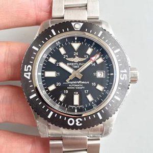 高仿百年灵手表 GF厂百年灵超级海洋系列1739310/BF45/162A 黑盘 机械男表价格_多少钱_报价-实名表业高仿手表商城