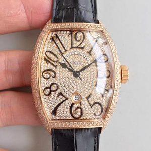 顶级复刻法兰克穆勒 法兰克穆勒 满钻款复刻 男表GF厂价格_多少钱_报价-实名表业高仿手表商城