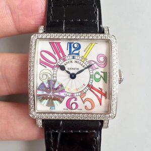 GF厂精仿法兰克穆勒,钻石表圈复刻女表价格_多少钱_报价-实名表业高仿手表商城