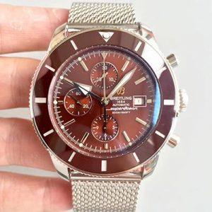GF厂高仿百年灵海洋文化A1331233 棕色盘 机械男表价格_多少钱_报价-实名表业高仿手表商城