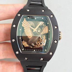 RICHARD MILLE 理查德米勒RM23 金鹰标志 男士自动机械表价格_多少钱_报价-实名表业高仿手表商城