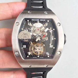 高仿理查德米勒陀飞轮手表RM001 JB厂理查德米勒陀飞轮复刻表价格_多少钱_报价-实名表业高仿手表商城