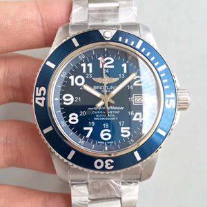 高仿百年灵手表 GF厂百年灵超级海洋系列A17392D7/BD68 蓝盘 机械男表价格_多少钱_报价-实名表业高仿手表商城