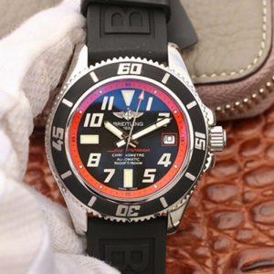 百年灵A1736402/BA31,ZF厂高仿复刻百年灵超级海洋系列A1736402/BA31黑深潜胶带 机械男表价格_多少钱_报价-实名表业高仿手表商城