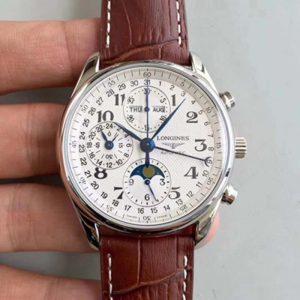 【浪琴L2.673.4.78.3】JF厂一比一高仿浪琴(Longines)名匠系列L2.673.4.78.3 男士自动机械表手表价格_多少钱_报价-实名表业高仿手表商城