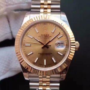 复刻劳力士日志型126333 18K包金 机械男表手表价格_多少钱_报价-实名表业高仿手表商城