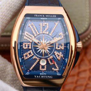 精仿法兰克穆勒满钻款复刻玫瑰金,男士手表价格_多少钱_报价-实名表业高仿手表商城