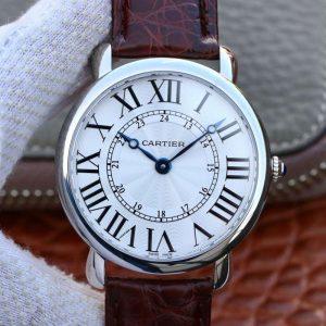 一比一高仿瑞士卡地亚Cartier男表,皮带全自动机械大号款男士手表,价格_多少钱_报价-实名表业高仿手表商城