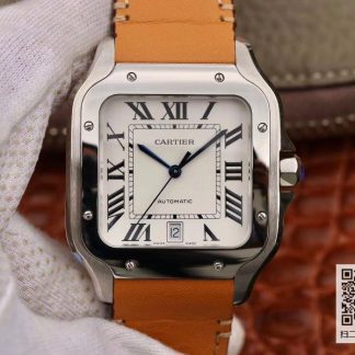 卡地亚WSSA0009 KOR厂卡地亚山度士WSSA0009 复刻表价格_多少钱_报价-实名表业高仿手表商城