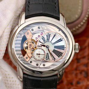 V9爱彼千禧系列15350款 一比一高仿爱彼机械男士腕表价格_多少钱_报价-实名表业高仿手表商城