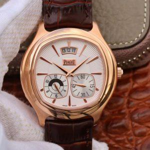 高仿伯爵男表黑带系列G0A32017玫瑰金款 复刻表价格_多少钱_报价-实名表业高仿手表商城