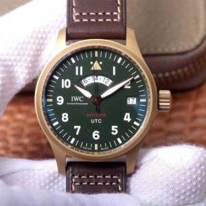 精仿万国青铜喷火战机飞行员UTC腕表MJ271特别版IW327101 ZF厂复刻万国IW327101男表价格_多少钱_报价-实名表业高仿手表商城