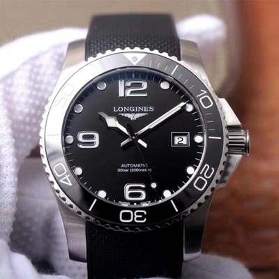 精仿浪琴康卡斯潜水系列水中霸主L3.781.4.56.9 ZF厂复刻浪琴L3.781.4.56.9男表价格_多少钱_报价-实名表业高仿手表商城