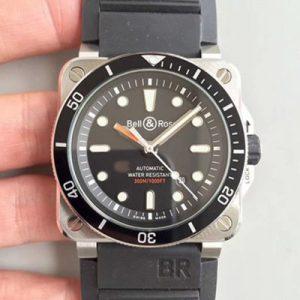 复刻柏莱士BR0392-D-BL-ST/SRB 精仿柏莱士Instruments系列BR0392-D-BL-ST/SRB精钢黑盘男表价格_多少钱_报价-实名表业高仿手表商城