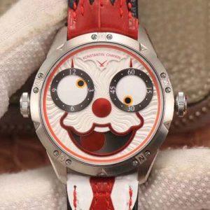 精仿俄罗斯小丑V3S版真功能快调月相与原版同步白色表盘V2 TW厂复刻俄罗斯小丑男表价格_多少钱_报价-实名表业高仿手表商城