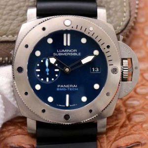 精仿沛纳海潜行系列PAM00692钛金属深邃蓝 VS厂沛纳海PAM00692男表价格_多少钱_报价-实名表业高仿手表商城